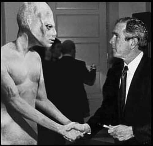 And yet... still not the best choice of president in this handshake.