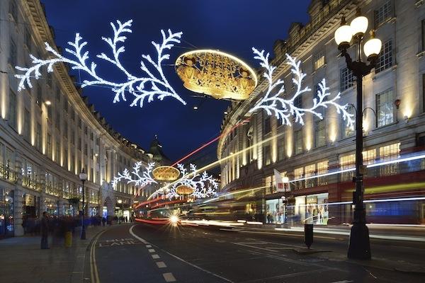 Regent Street. Christmas 2012.