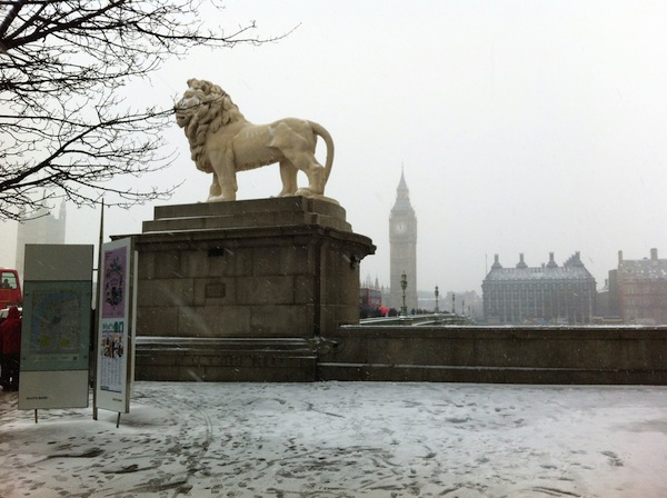 Cold, cold lion. Cold, cold Gordon.