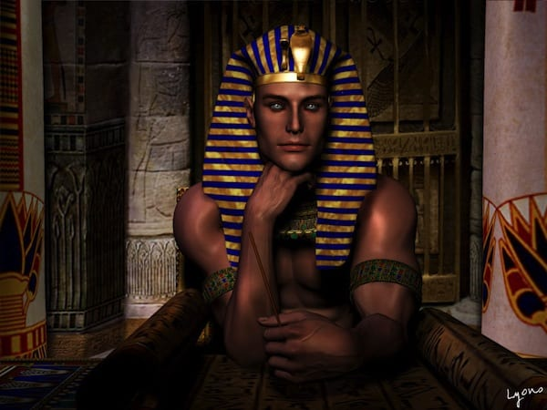 An unbelievably attractive Thoth by James Lyons.
