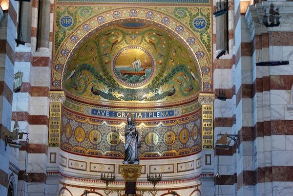 Notre-Dame de la Garde in Marseille.