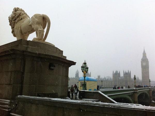 London in January.