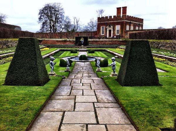Gardens of Hampton Court.