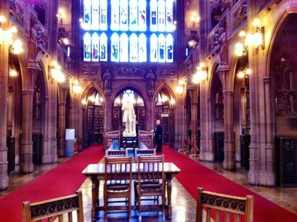 John Rylands himself.