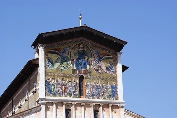 A church in Lucca.