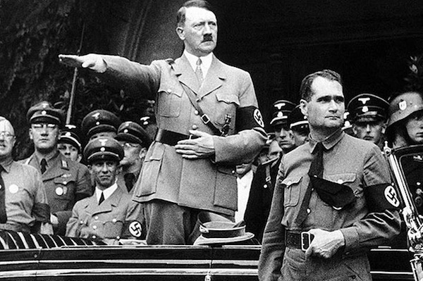 Astrology fan and moron, Rudolf Hess.