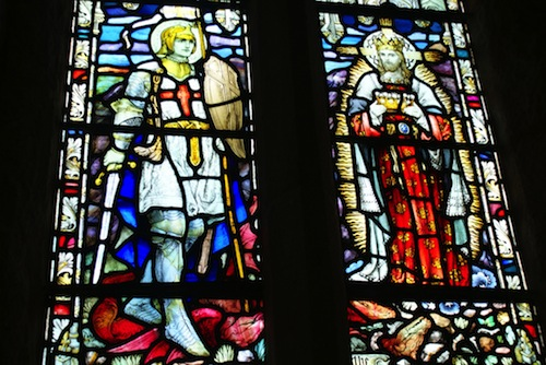 A window in St Michael's Mount, Cornwall.