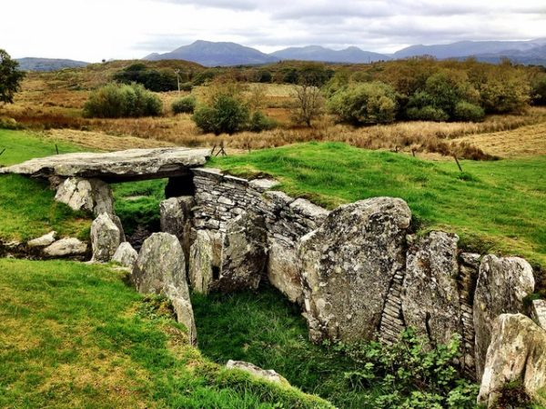 A burial chamber in the wilds of Snowdonia.