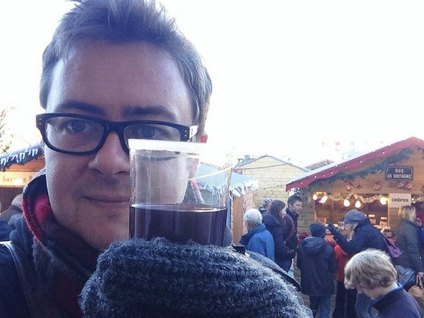 Salisbury Christmas Markets only a couple of weeks ago. I'm dressed slightly differently now.