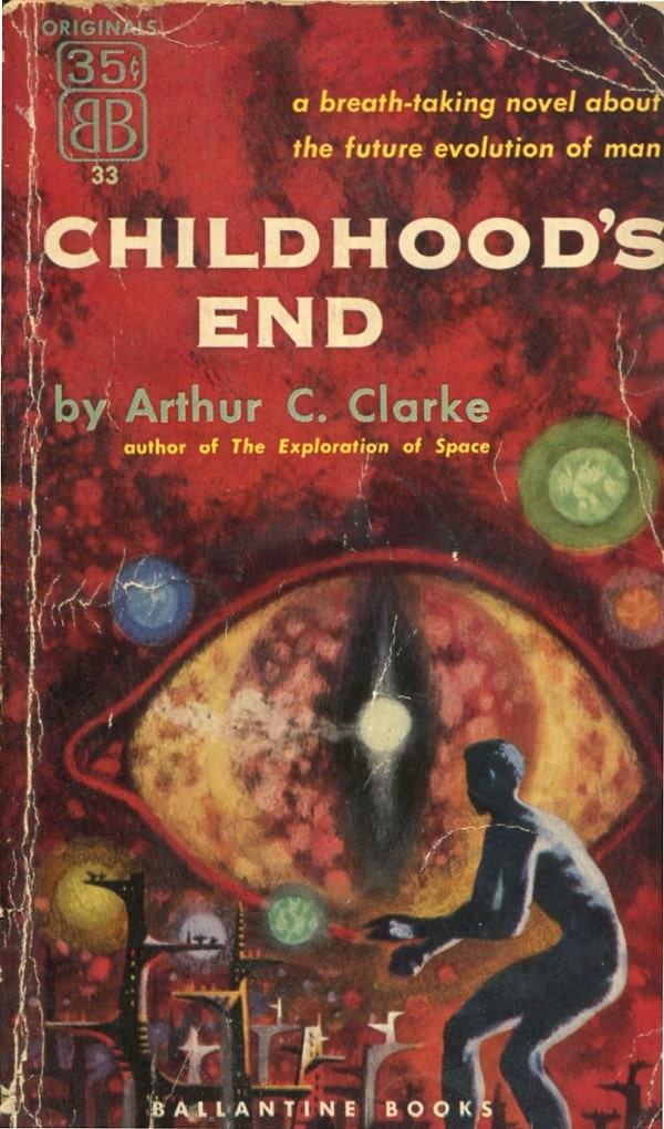 109 Arthur C Clarke Childhood's End Ballantine053